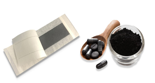 کاربرد دارویی کربن سیاه
