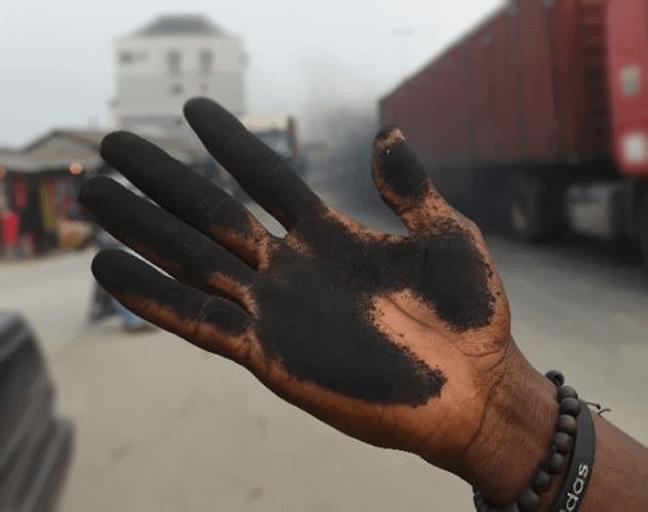 مضررات کربن سیاه