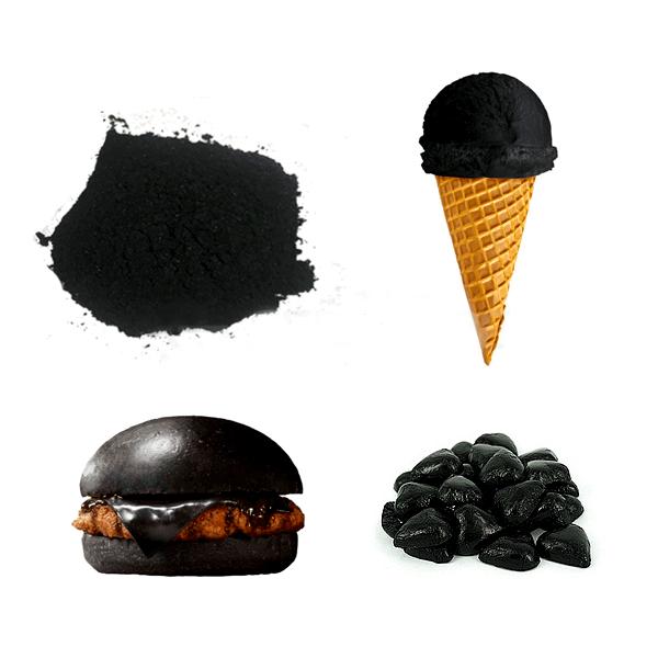 کربن فعال در مواد غذایی