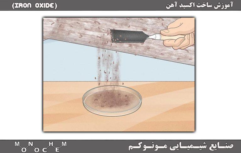 آموزش ساخت اکسید آهن به روش الکترولیز کردن آب
